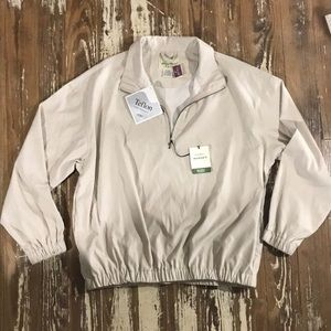 Eddie Bauer Golf Microfiber wind shirt. NWT  SP